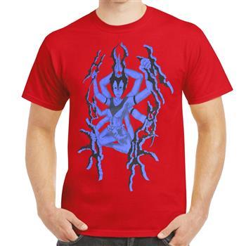 Unhuman Goddess Red T-Shirt