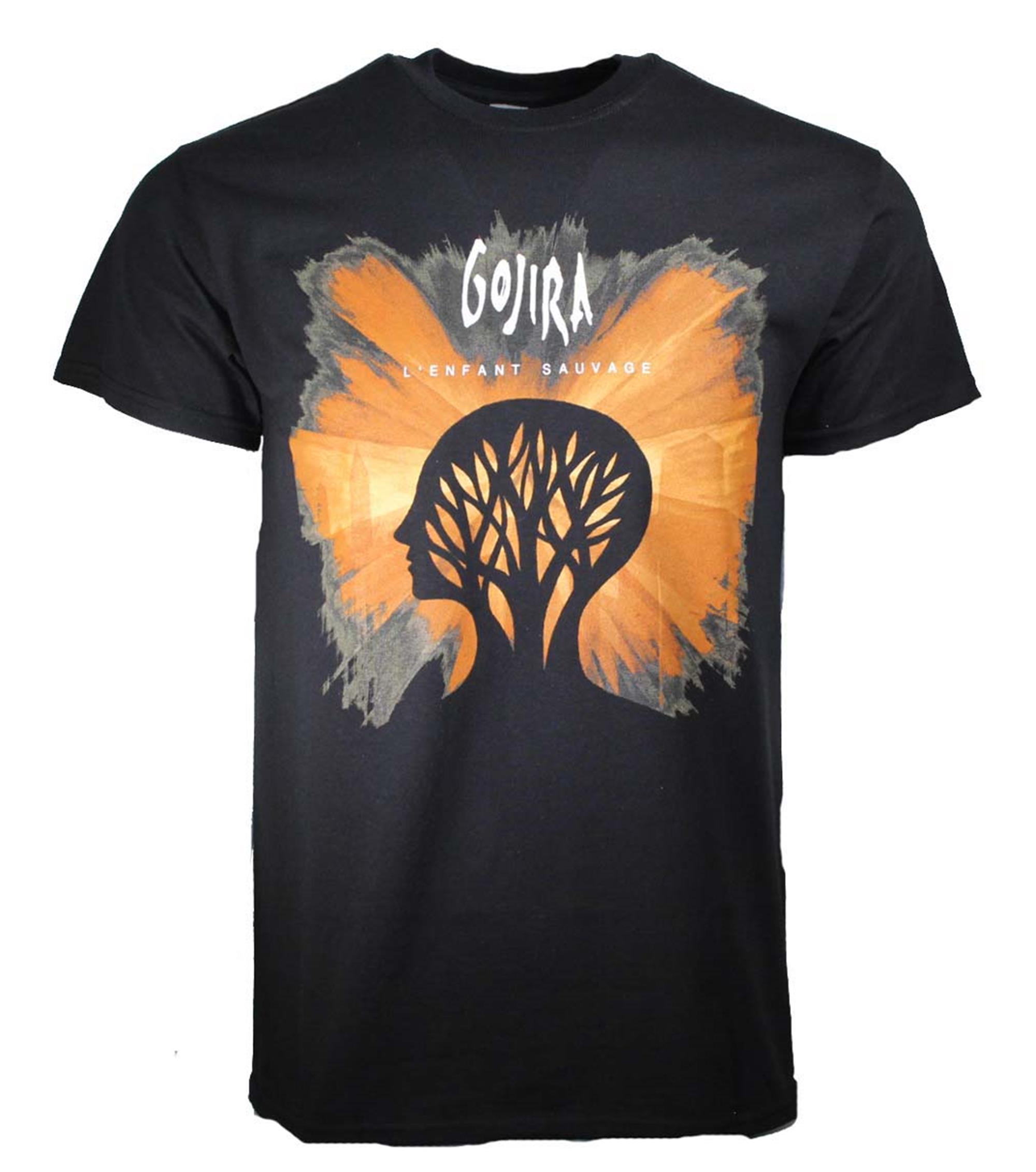 Gojira L Enfant Sauvage Black T-Shirt