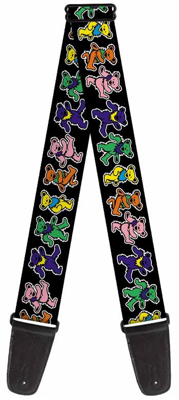 Buy Grateful Dead Dancing Bears Guitar Strap by Grateful Dead