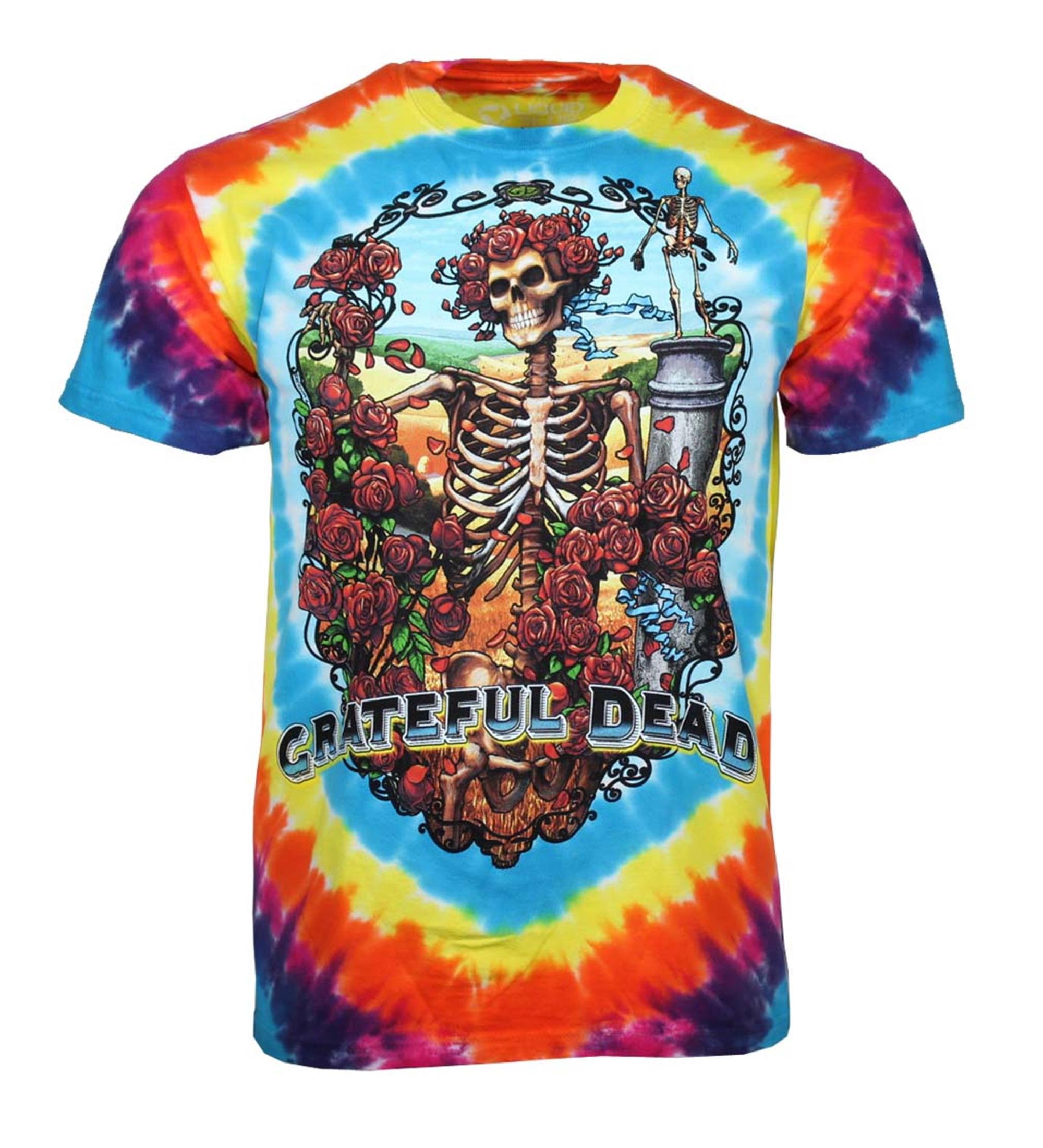 Grateful Dead Rainbow Bertha T-Shirt