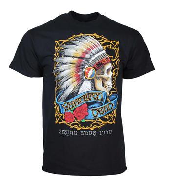 Grateful Dead Grateful Dead Spring Tour 1990 T-Shirt