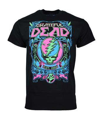 Grateful Dead Grateful Dead SYF Blacklight T-Shirt