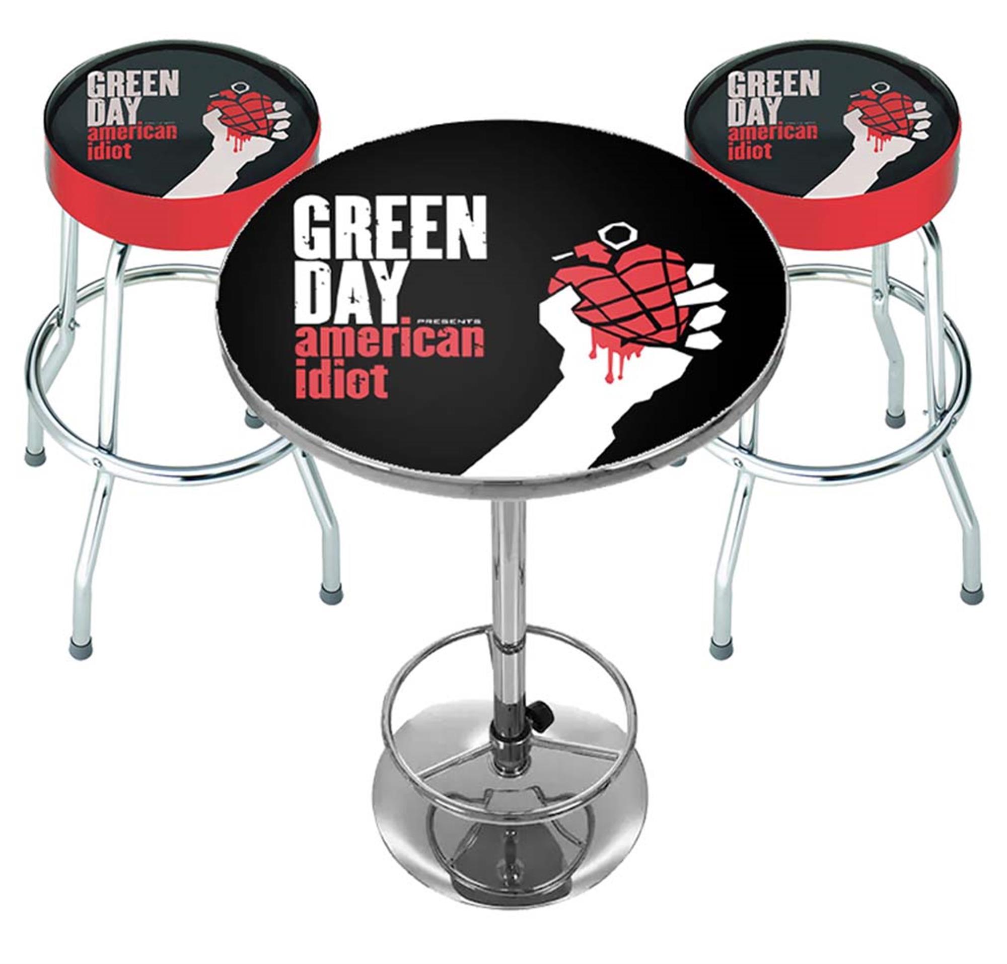 Green Day American Idiot Bar Set