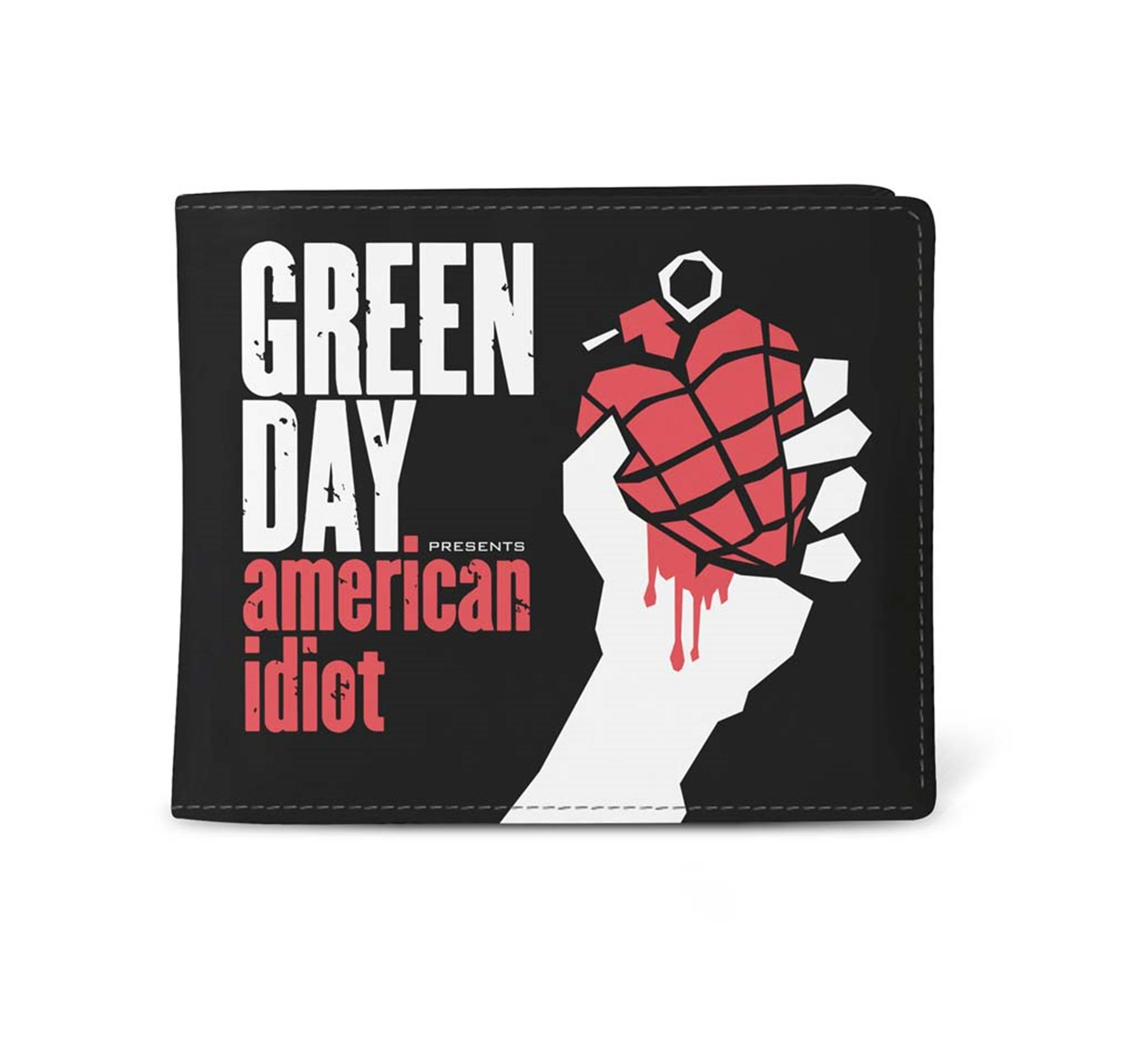 Green Day American Idiot Wallet