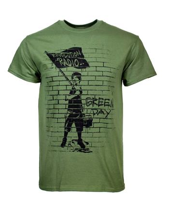 Green Day Green Day Flag Boy T-Shirt