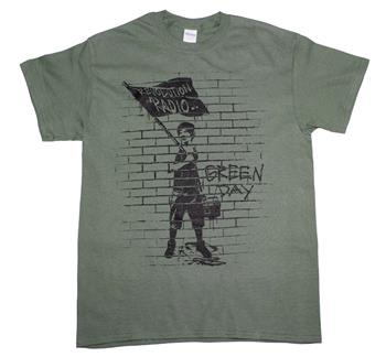 Buy Green Day Flag Boy T-Shirt by Green Day