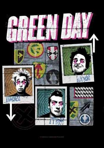 Buy Uno Dos Tre Flag by Green Day