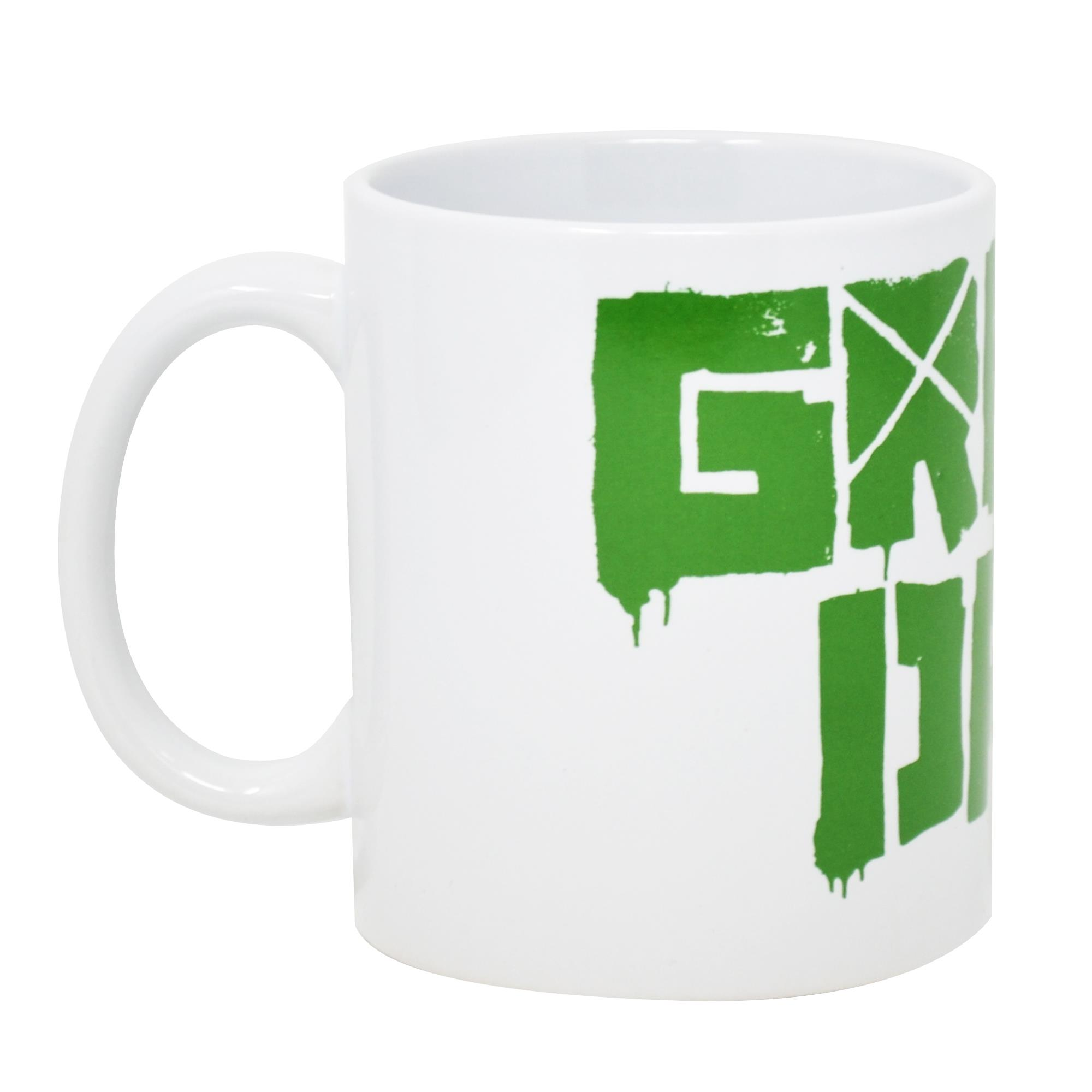 Green Logo Mug