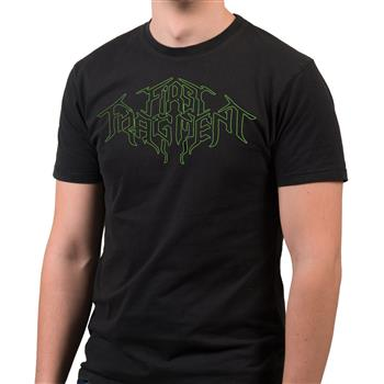 First Fragment Green Outline Logo T-Shirt
