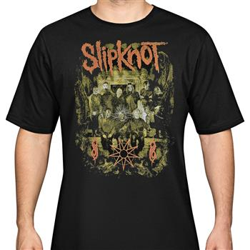 Buy Group Shot T-Shirt by Slipknot