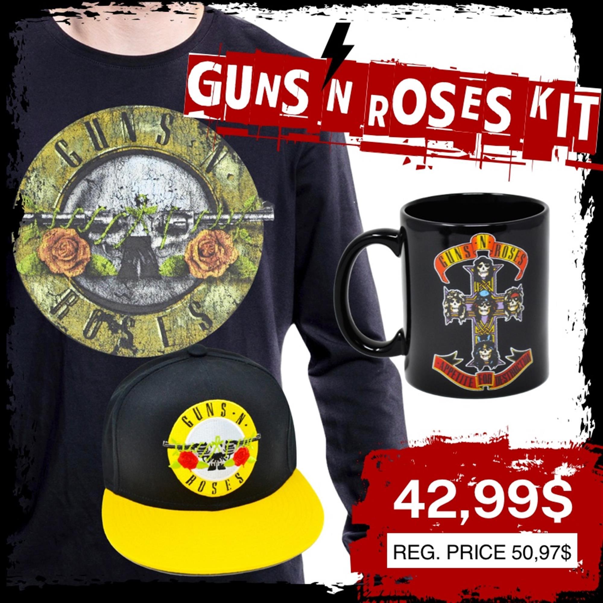 GUN 'N' ROSES KIT