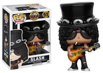 Buy Funko Toys Guns n Roses Slash Pop Rocks Vinyl Figure by Guns 'n' Roses