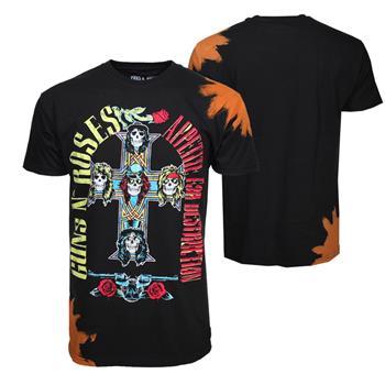 Guns 'n' Roses Guns n Roses Appetite Bleach Dyed T-Shirt