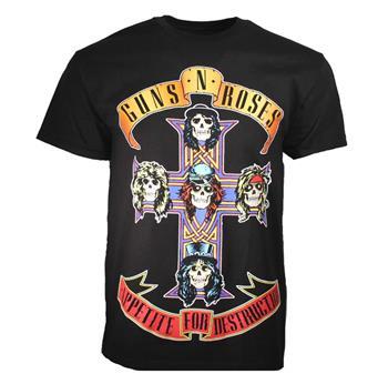 Guns 'n' Roses Guns n Roses Appetite for Destruction Jumbo Print T-Shirt