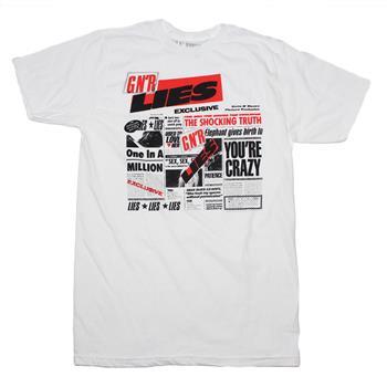Buy Guns n Roses Lies T-Shirt by GUNS 'N' ROSES