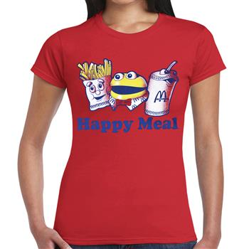 Mc Donald's Happy Meal Red