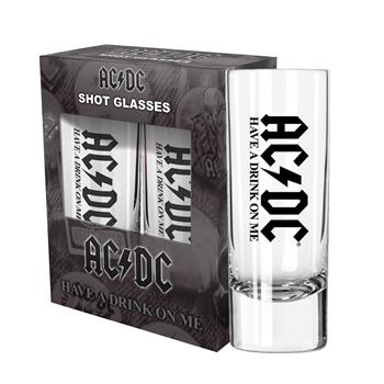 AC/DC Have A Drink On Me Shot Glass