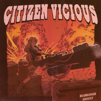 Citizen Vicious Headbanger Assault CD