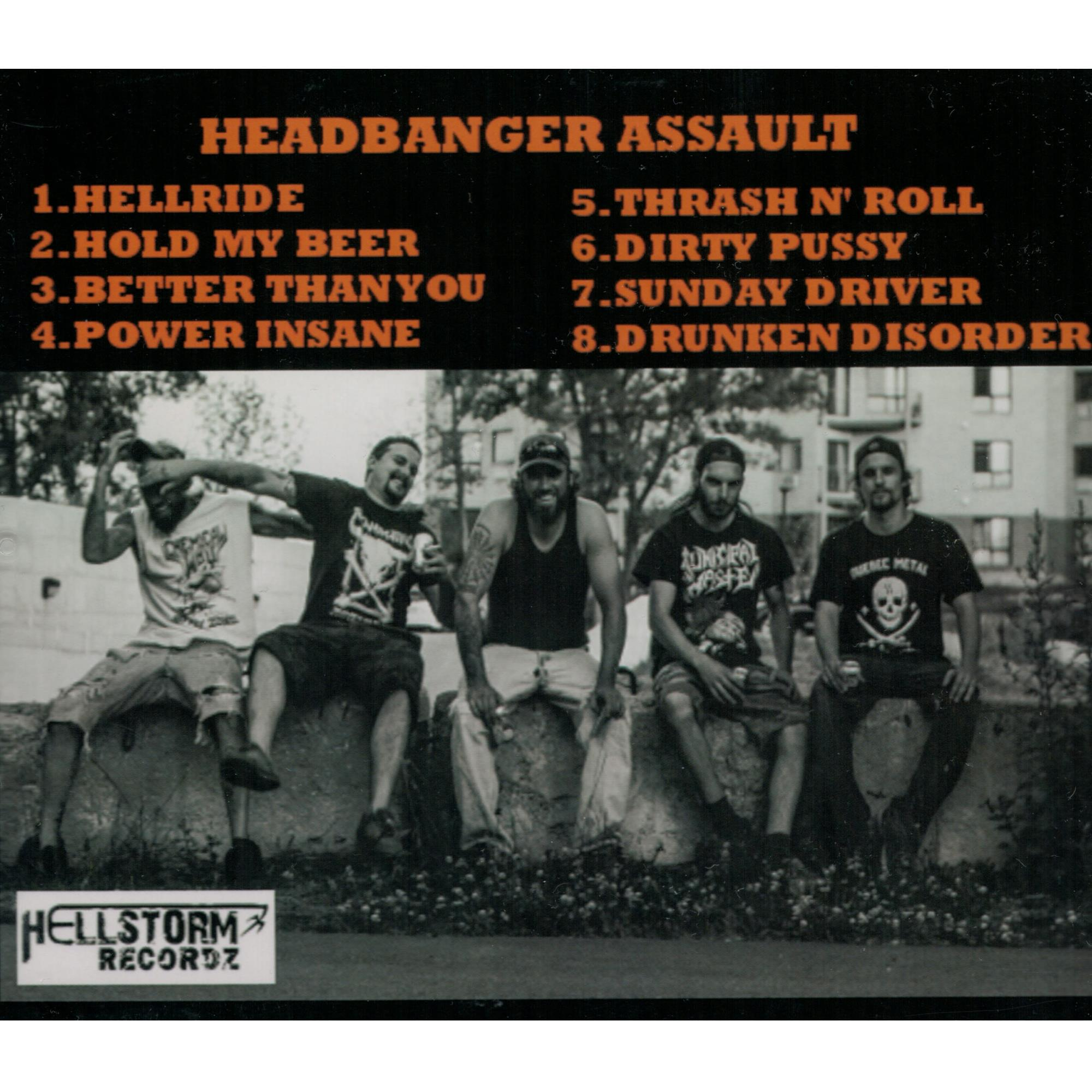 Headbanger Assault CD