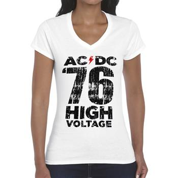 AC/DC High Voltage V-Neck Shirt