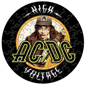 AC/DC High Voltage Jigsaw Puzzle