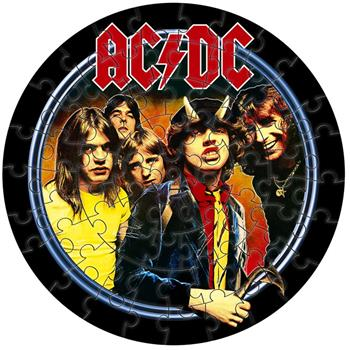 AC/DC Highway To Hell Jigsaw Puzzle
