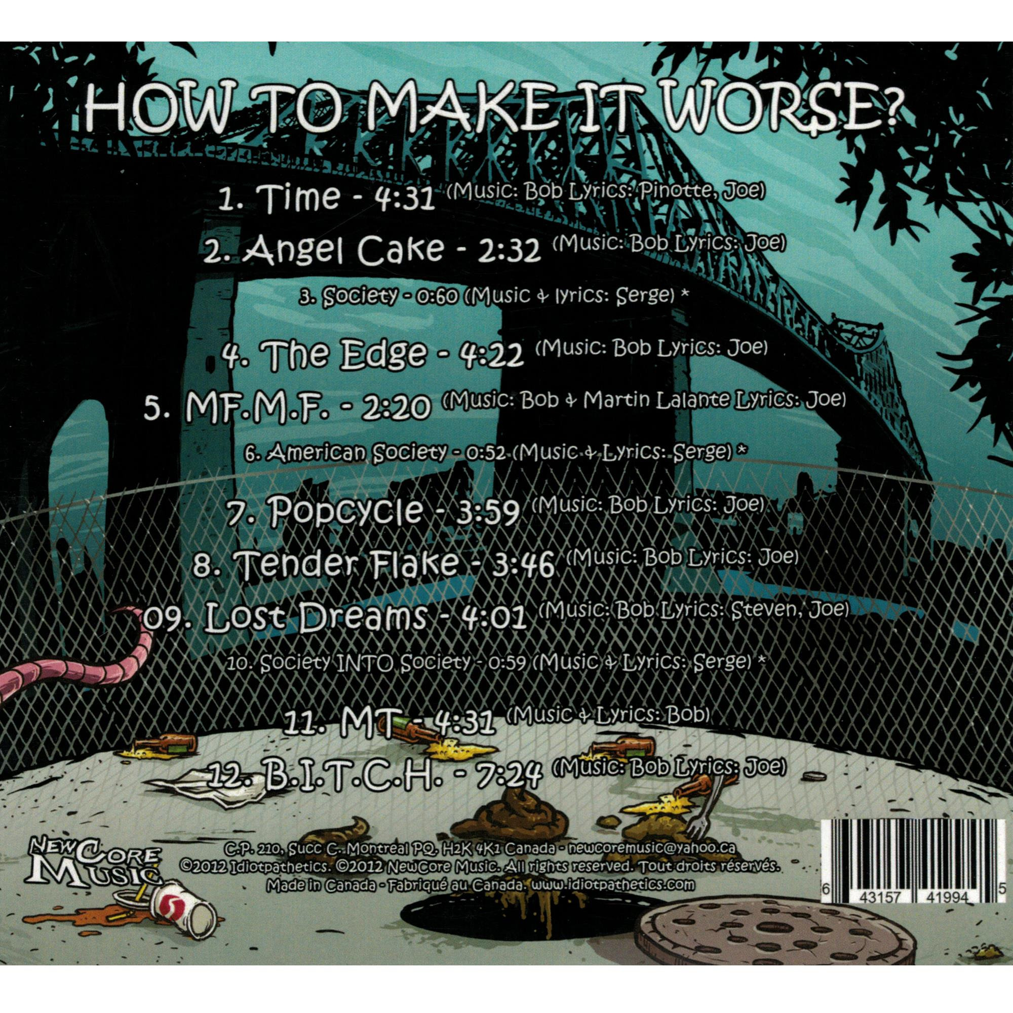 How To Make It Worse CD