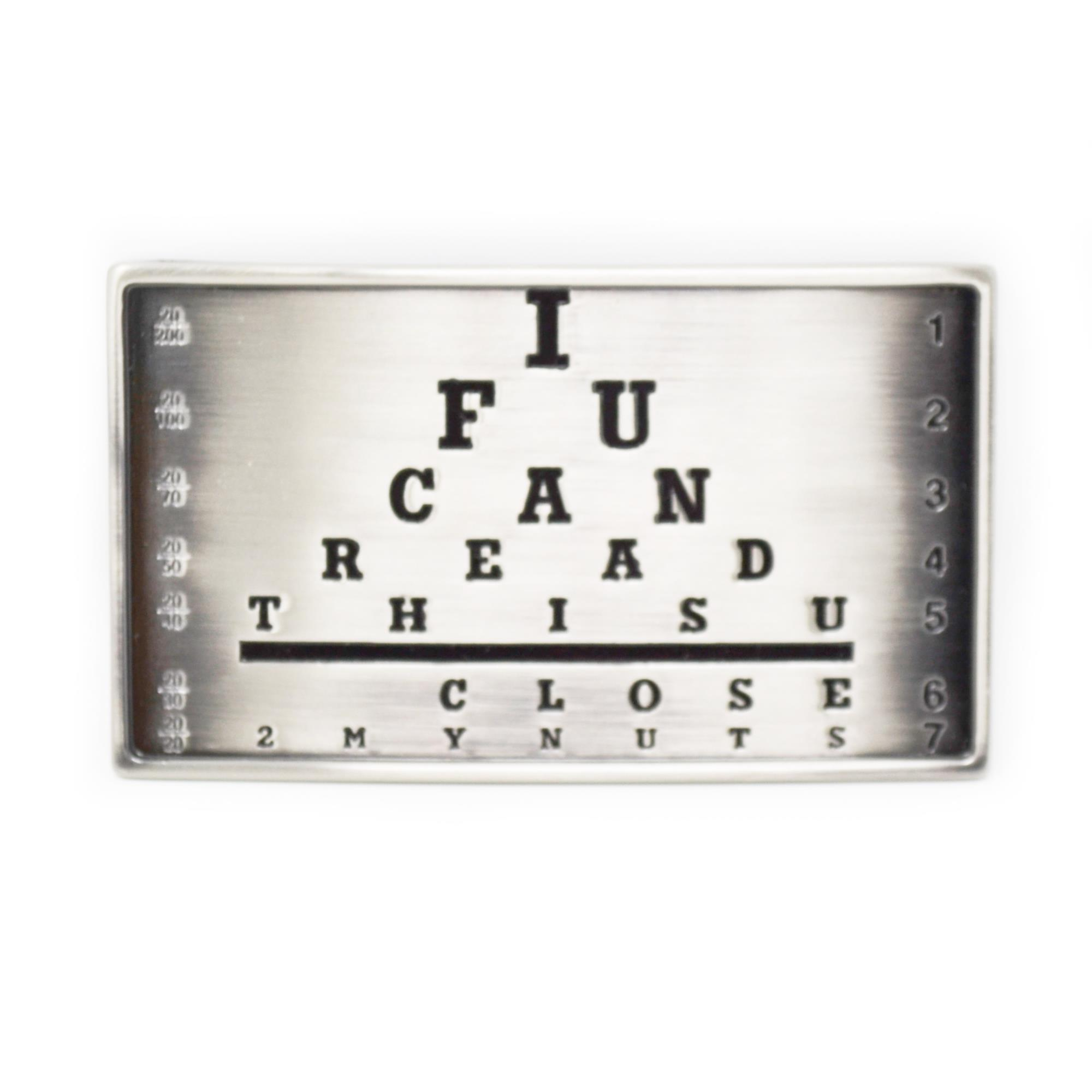 I Can Read Buckle