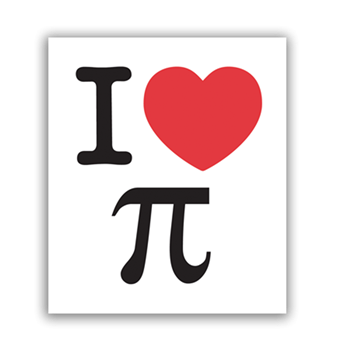 Buy I Love Pie Sticker by Generic