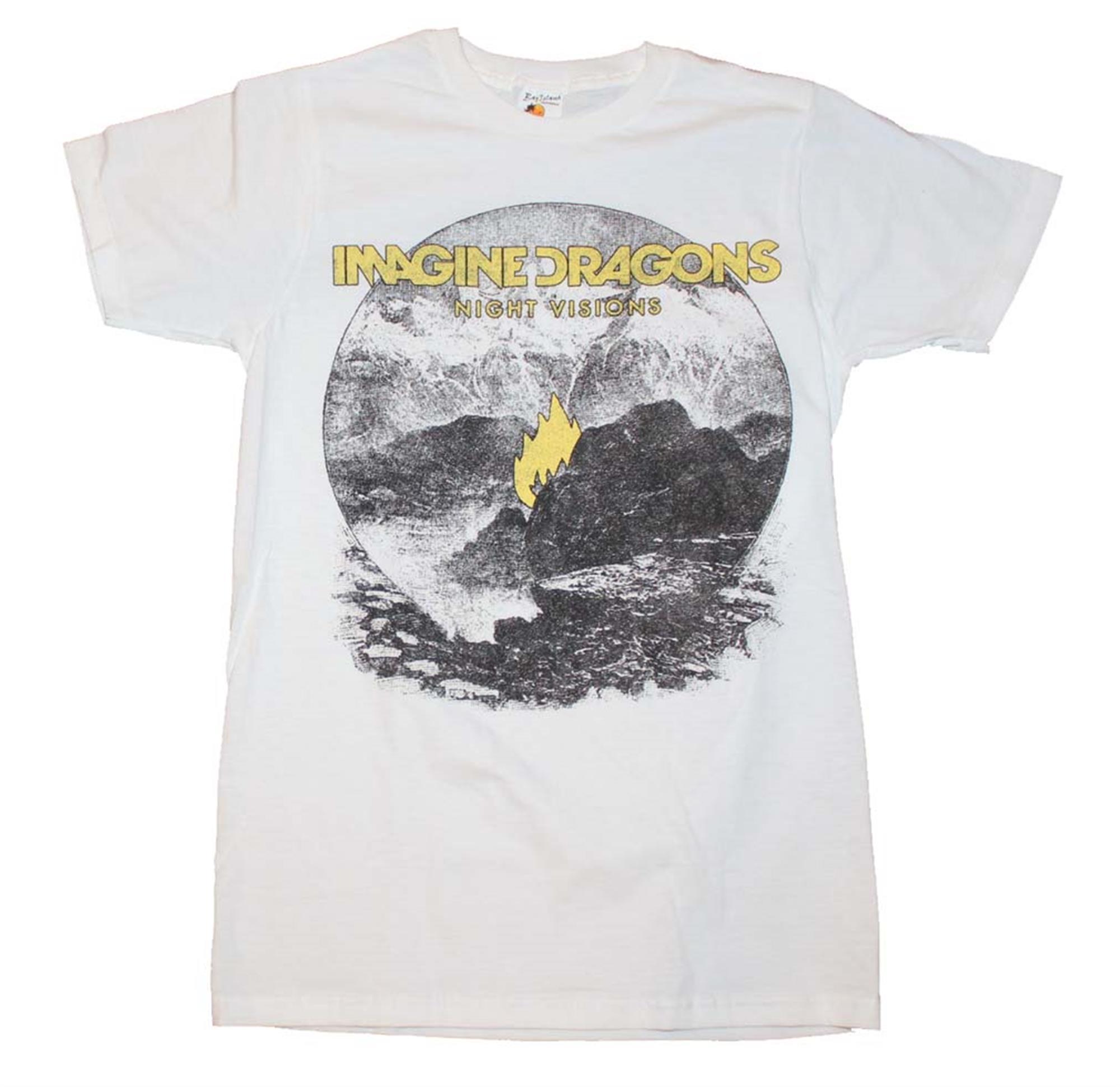 Imagine Dragons Flame White Men's T-Shirt