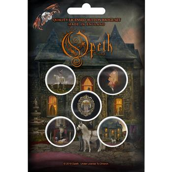 Opeth In Caude Venenum Button Pin Set