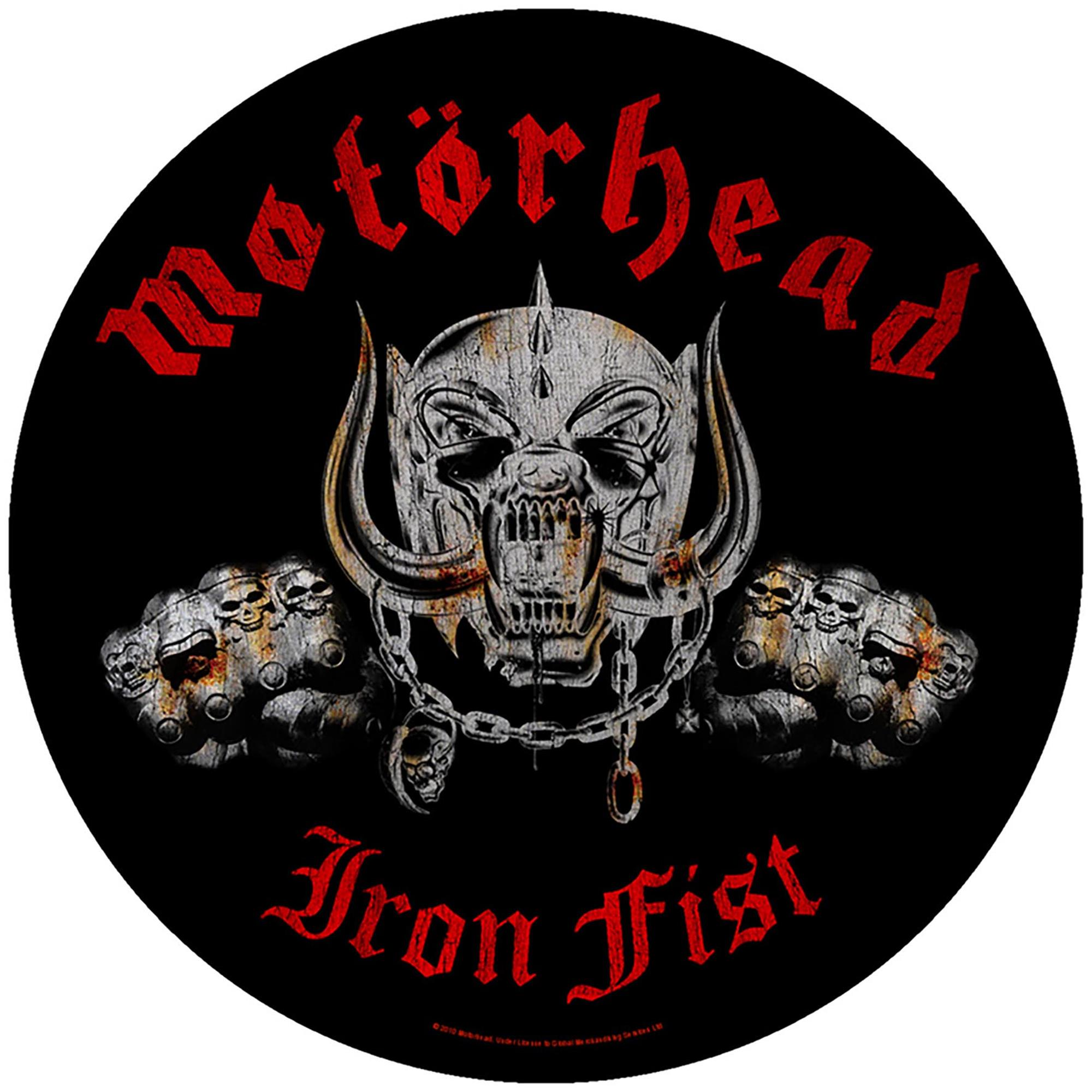 Iron Fist Backpatch