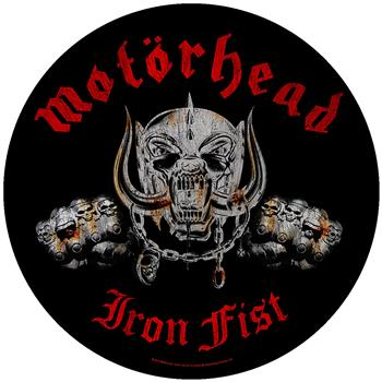 Motorhead Iron Fist Backpatch