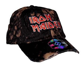 Buy Iron Maiden Bleach Logo Hat by Iron Maiden