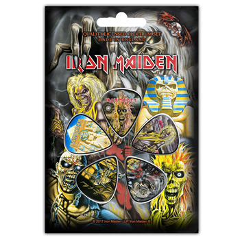 Buy Early Albums Guitar Pick Set by Iron Maiden