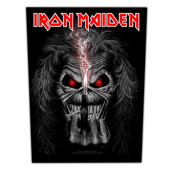 Iron Maiden Eddie Candle Finger Patch