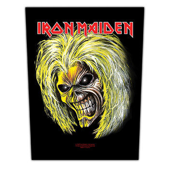 Iron Maiden Killers/Eddie Backpatch