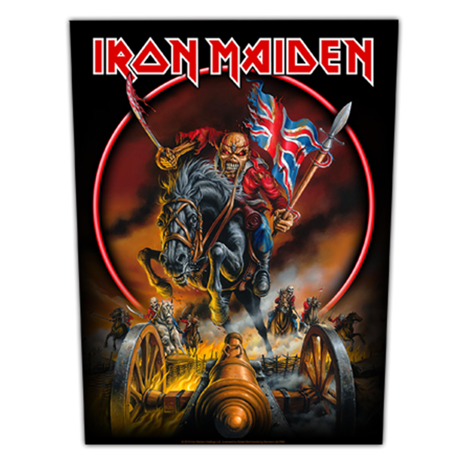 Maiden England Backpatch