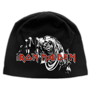 Buy Number Of The Beast (Discharge) Beanie by Iron Maiden