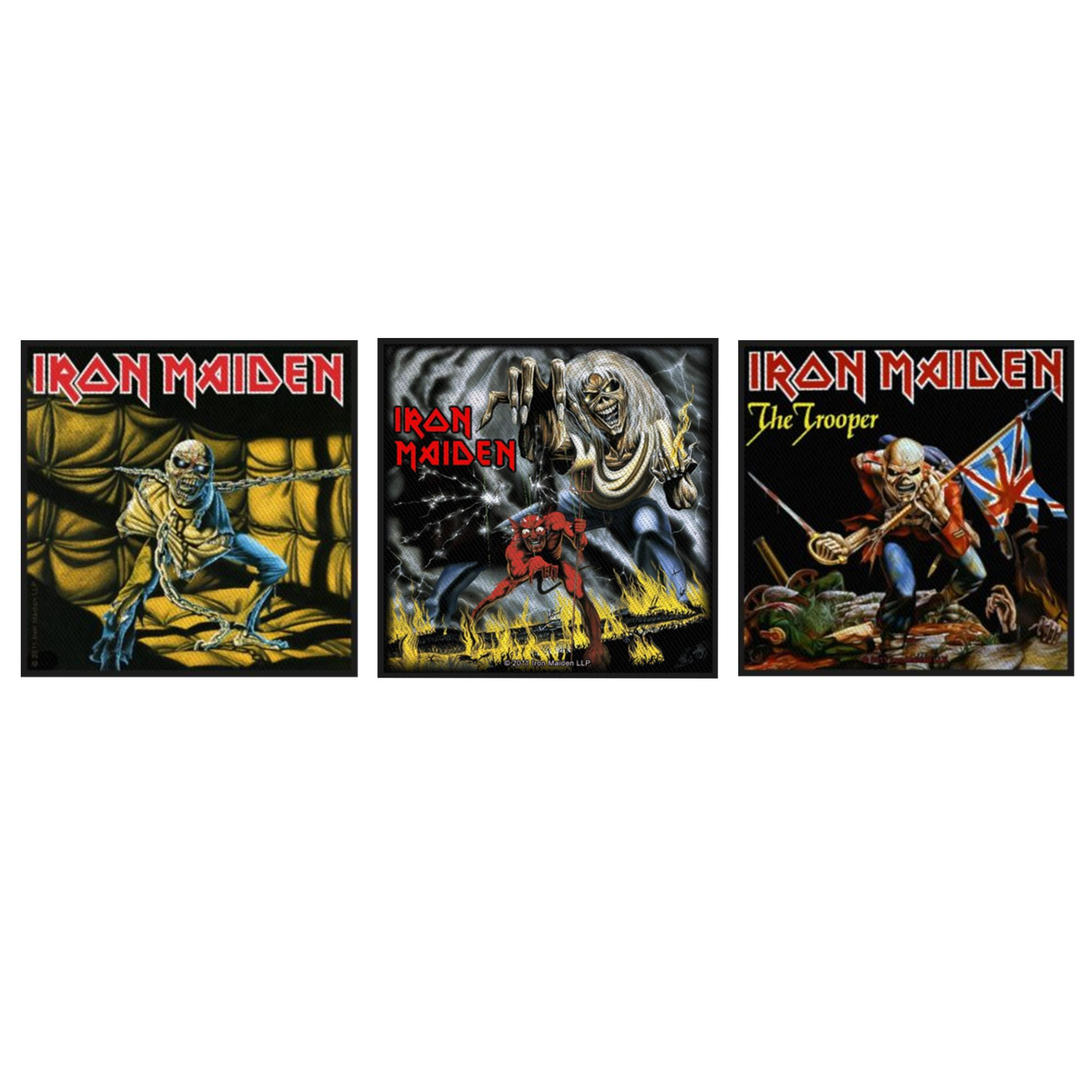 Iron Maiden Patch Pack