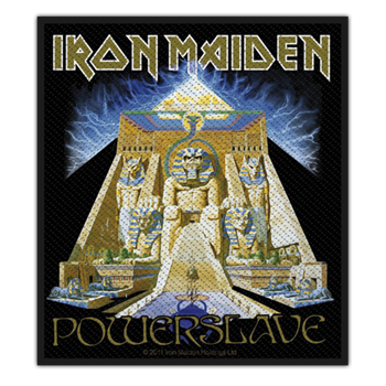 Buy Powerslave Patch by Iron Maiden