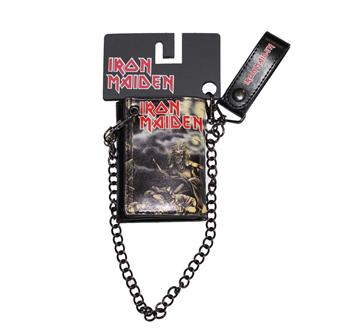 Iron Maiden Iron Maiden Sanctuary Trifold Wallet & Chain