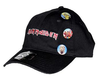 Buy Iron Maiden Trooper Pin Hat by Iron Maiden