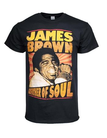 James Brown James Brown Godfather of Soul T-Shirt