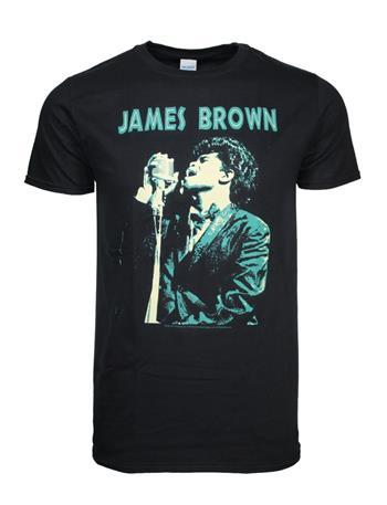 James Brown James Brown Singing T-Shirt