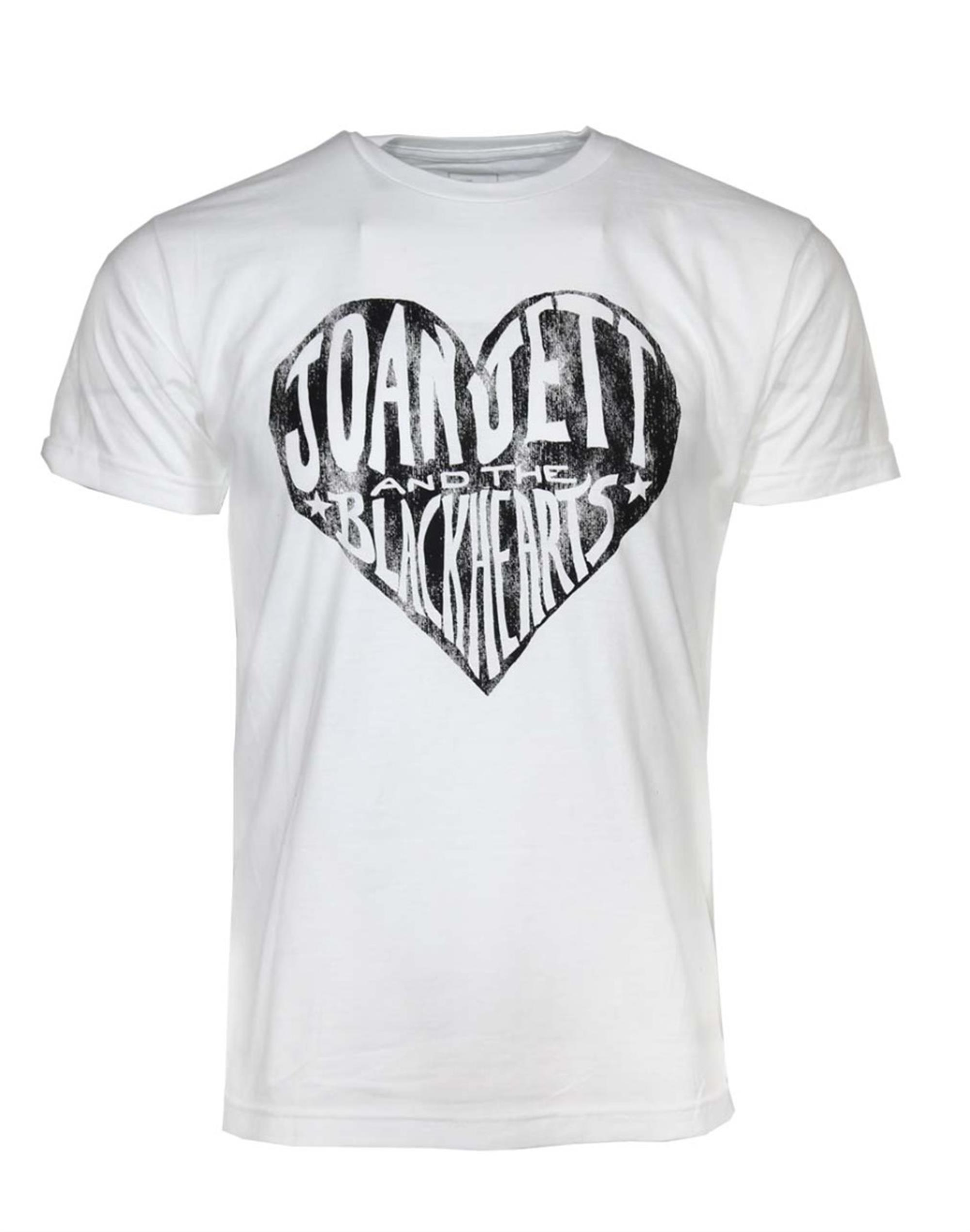 JoanJettBlackhearts White T-Shirt