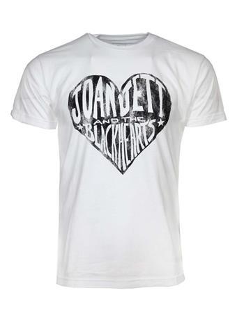 Joan Jett JoanJettBlackhearts White T-Shirt