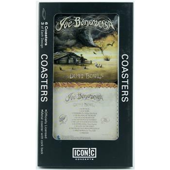 Buy Joe Bonamassa Dust Bowl Drink Coaster Set (6 Coasters) by Joe Bonamassa