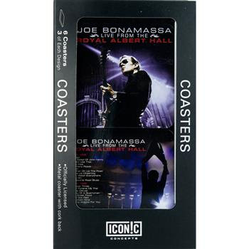 Buy Joe Bonamassa Royal Albert Hall Drink Coaster Set (6 Coasters) by Joe Bonamassa