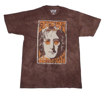 Buy John Lennon Live In NYC Tie Dye T-Shirt by JOHN LENNON